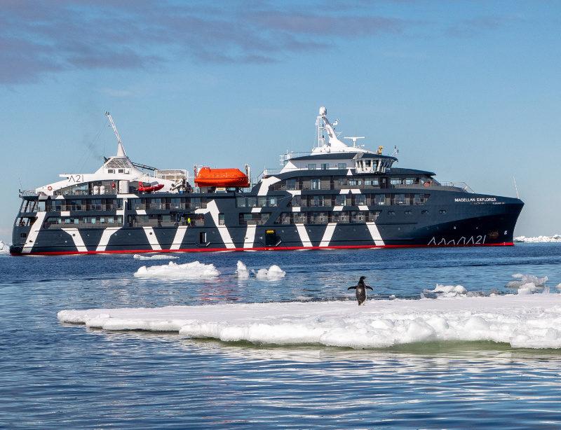 Expedition Kreuzfahrt Luxusschiff Antarktis Schiff Magellan Explorer