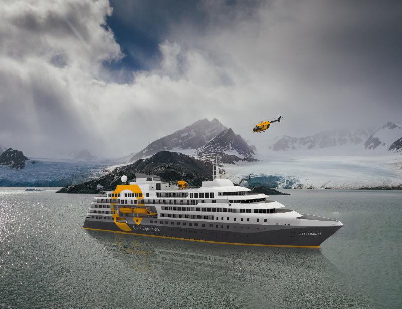 Luxusexpedition Kreuzfahrt Arktis Ultramarine Kachel 1