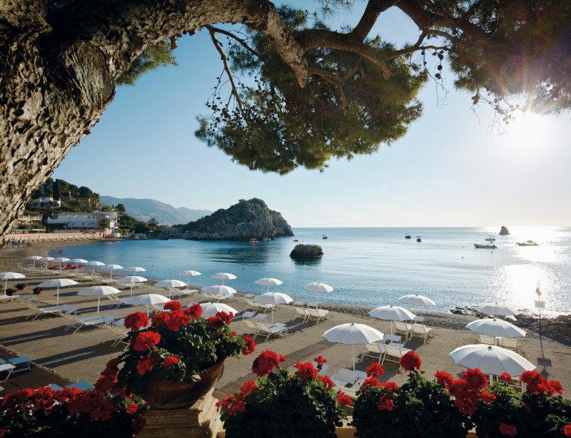 Luxusreise Italien Sizilien Taormina Mare Belmond Villa Sant Andrea