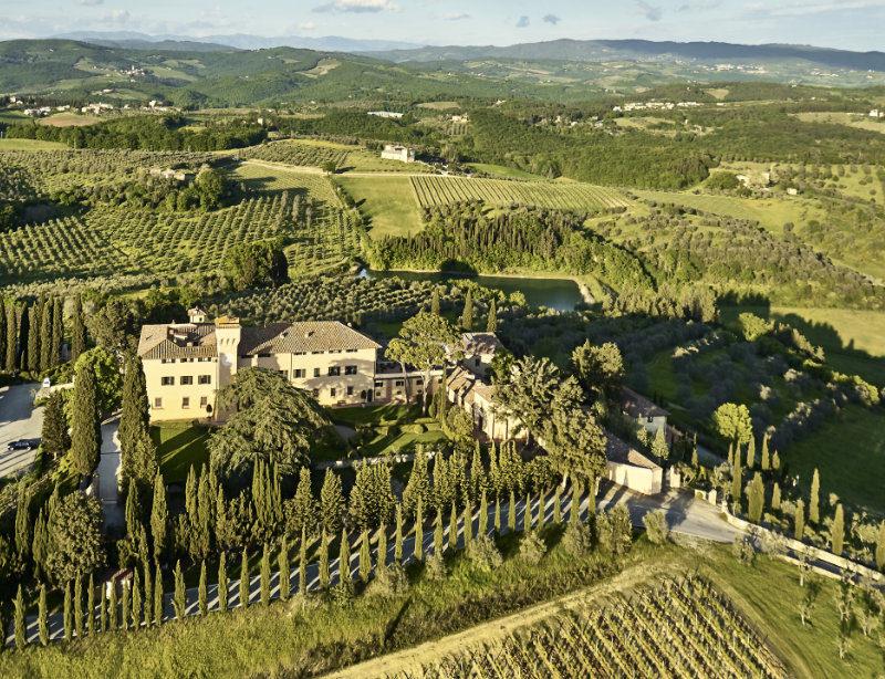 Luxusurlaub Italien Toskana Como Castello del Nero