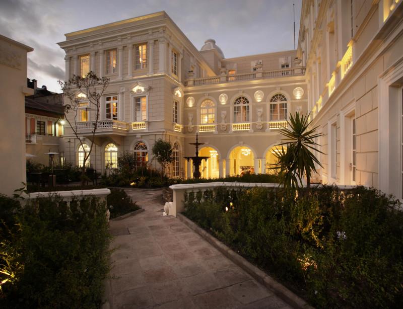 Luxushotel Ecuador Casa Gangotena