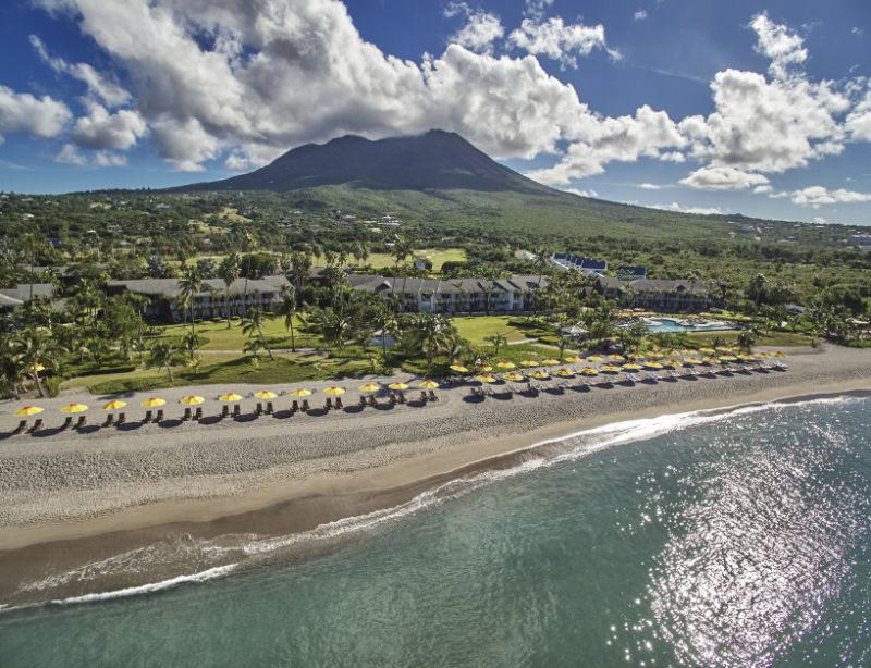 Luxushotel Four Seasons Nevis Karibik