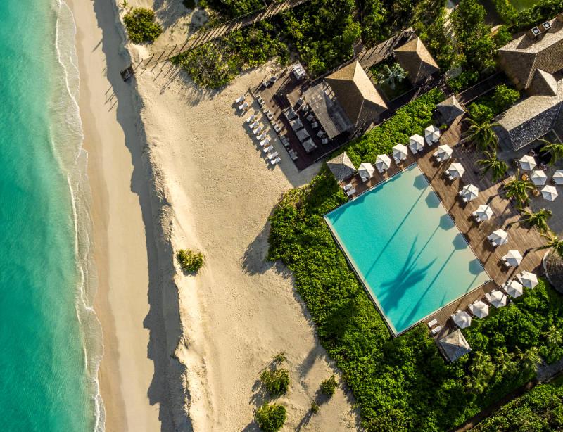 Luxusurlaub Turks- und Caicosinseln Karibik Como Parrot Cay – Argentum Reisen