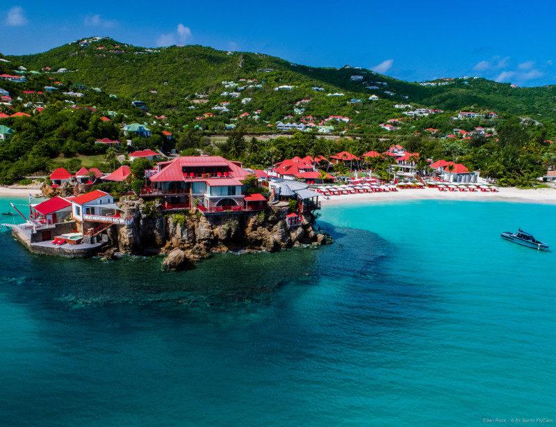 Luxushotel Karibik Eden Rock St Barth