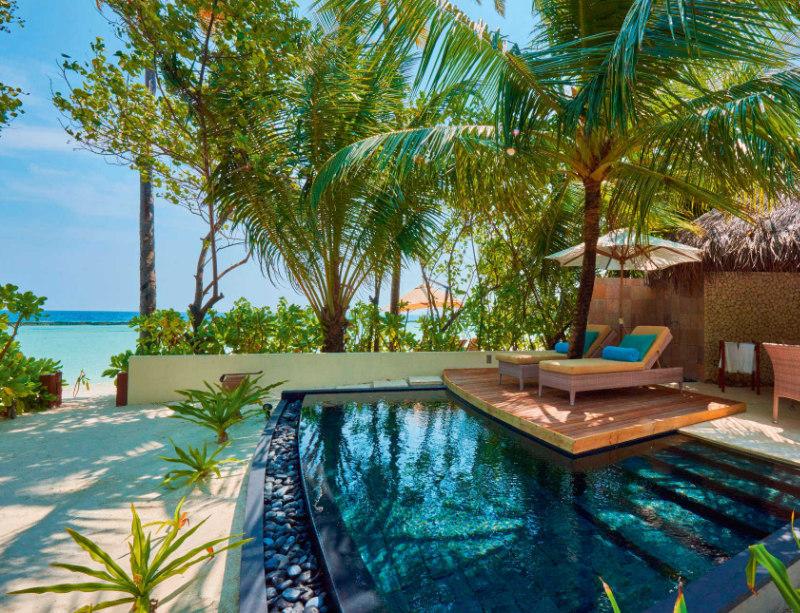 Luxusreise Hotel Malediven Constance Halaveli