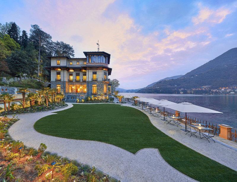 Luxusurlaub Italien Comer See Mandarin Oriental Lago di Como