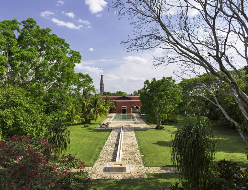 Luxushotel Mexiko Hacienda Temozon Argentum Reisen