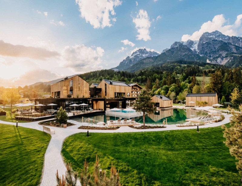 Luxusreise Österreich Leogang Naturhotel Forsthofgut
