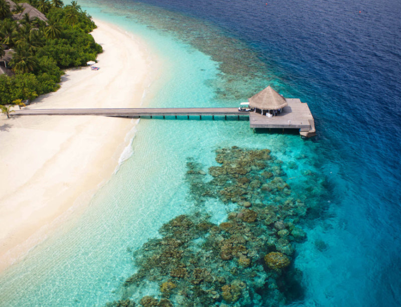 Luxushotel Outrigger Konotta Maledives Resort SvS Travel