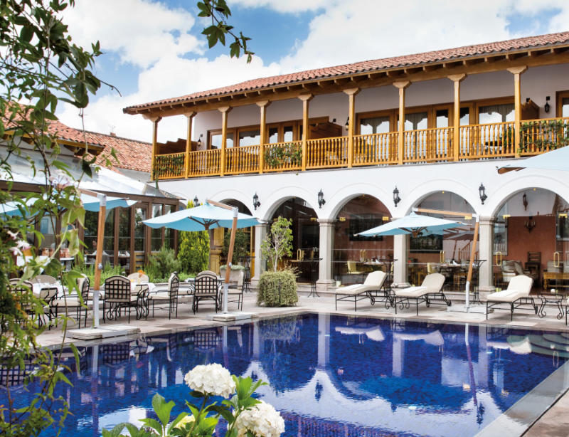 Luxushotel Peru Belmond Palacio Nazarenas Kachelbild