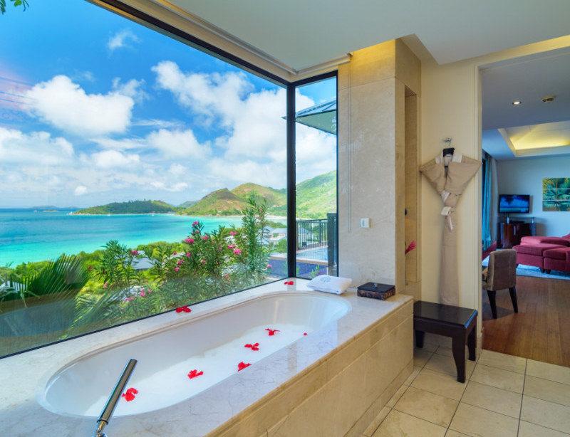 Luxusreisen Seychellen LUXUSHOTEL Raffles Praslin Resort