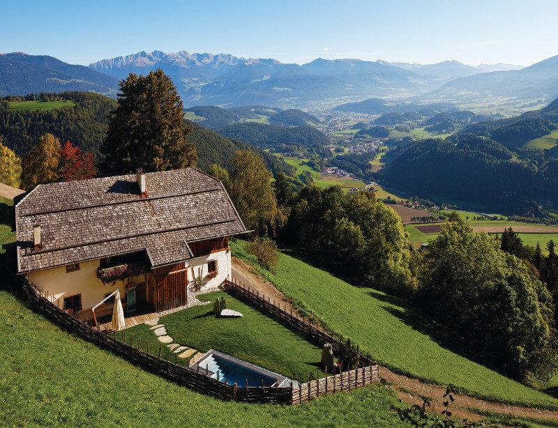 Luxusreise Südtirol Italien White Deer San Lorenzo Mountain Lodge