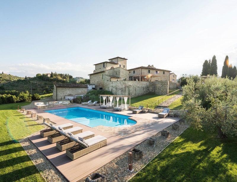 Luxusreise Toskana Italien Vitigliano Tuscan Relais