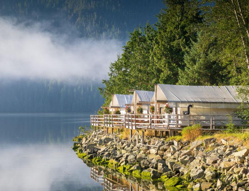 Luxusreisen Luxushotel Kanada Clayoquot Wildness Resort