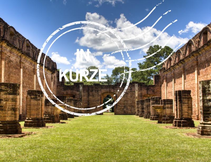 Luxusreisen Paraguay Kachel in Kurze