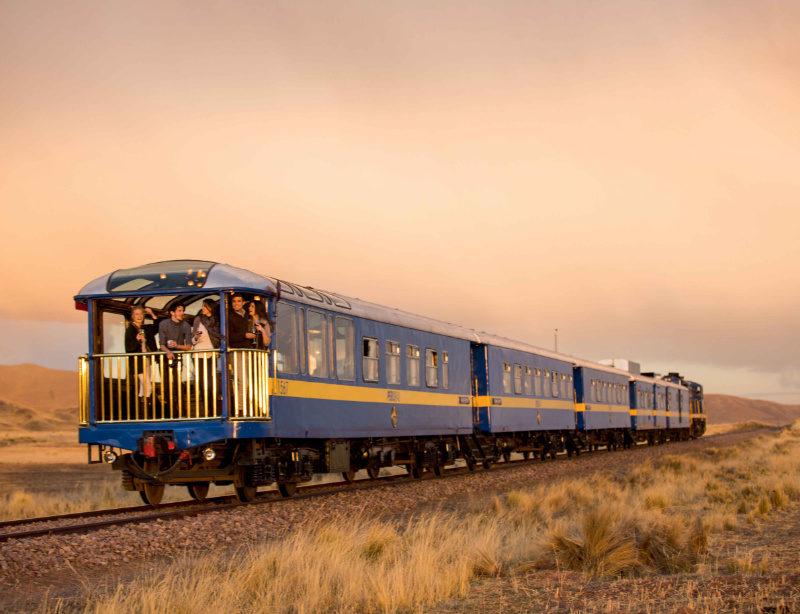 Luxuszug Rundreise Peru Titicaca Train