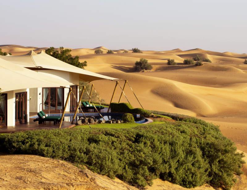 Luxushotel Al Maha Desert Resort